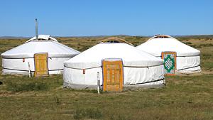 Mongoliet med Naadam
