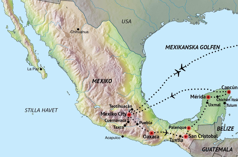 Mexiko En Fard Genom Historien Med Svd