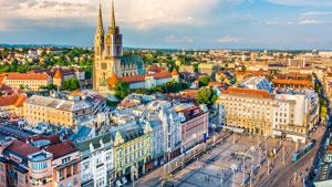 Zagreb weekend med Slovenien