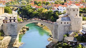 Kosovo - Montenegro - Kroatien - Bosnien&Hercegovina